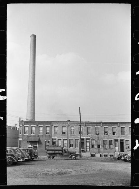 Homes near the coke plant, Camden, New Jersey