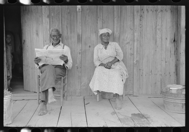 Husband and wife, old sharecroppers, New Madrid County, Missouri