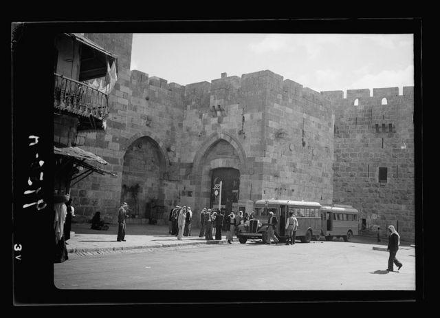 Jaffa Gate closed Oct. 17, 1938