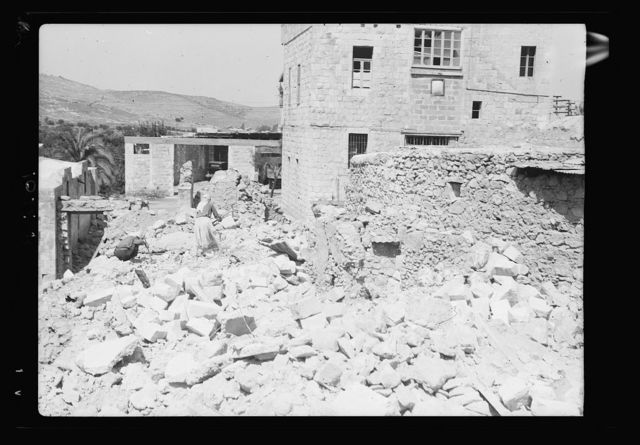 Jenin, dynamiting etc., Sept. 1938