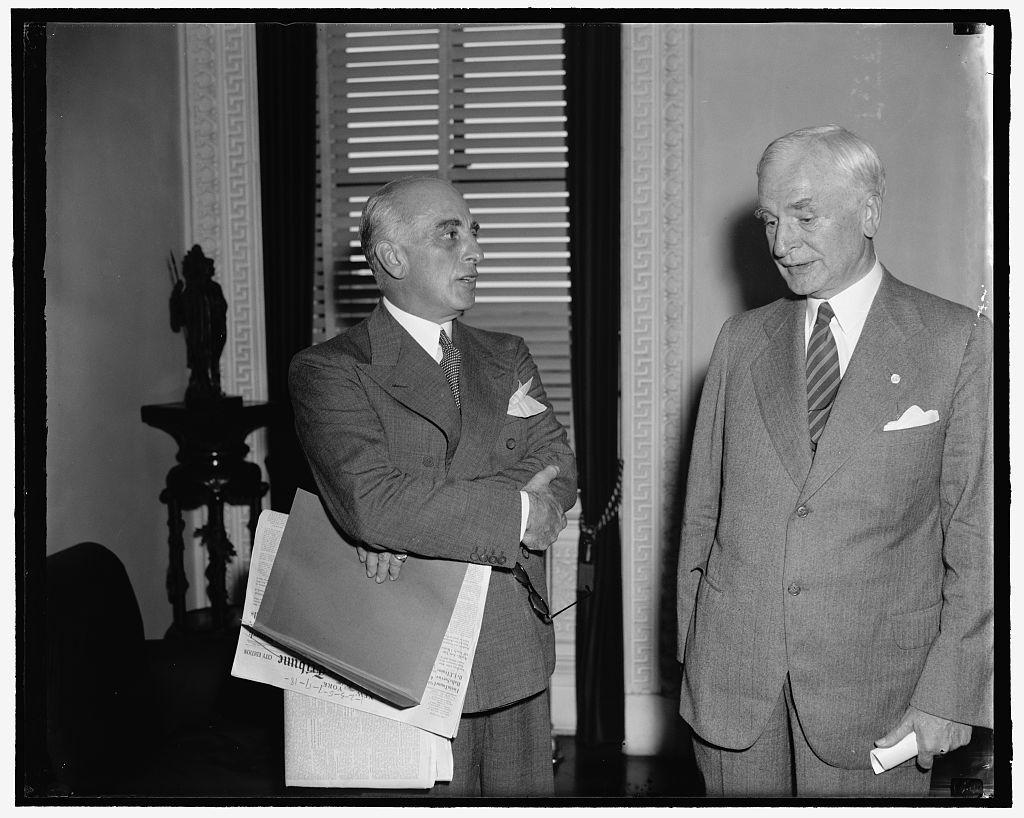 Joseph E. Davis & Cordell Hull