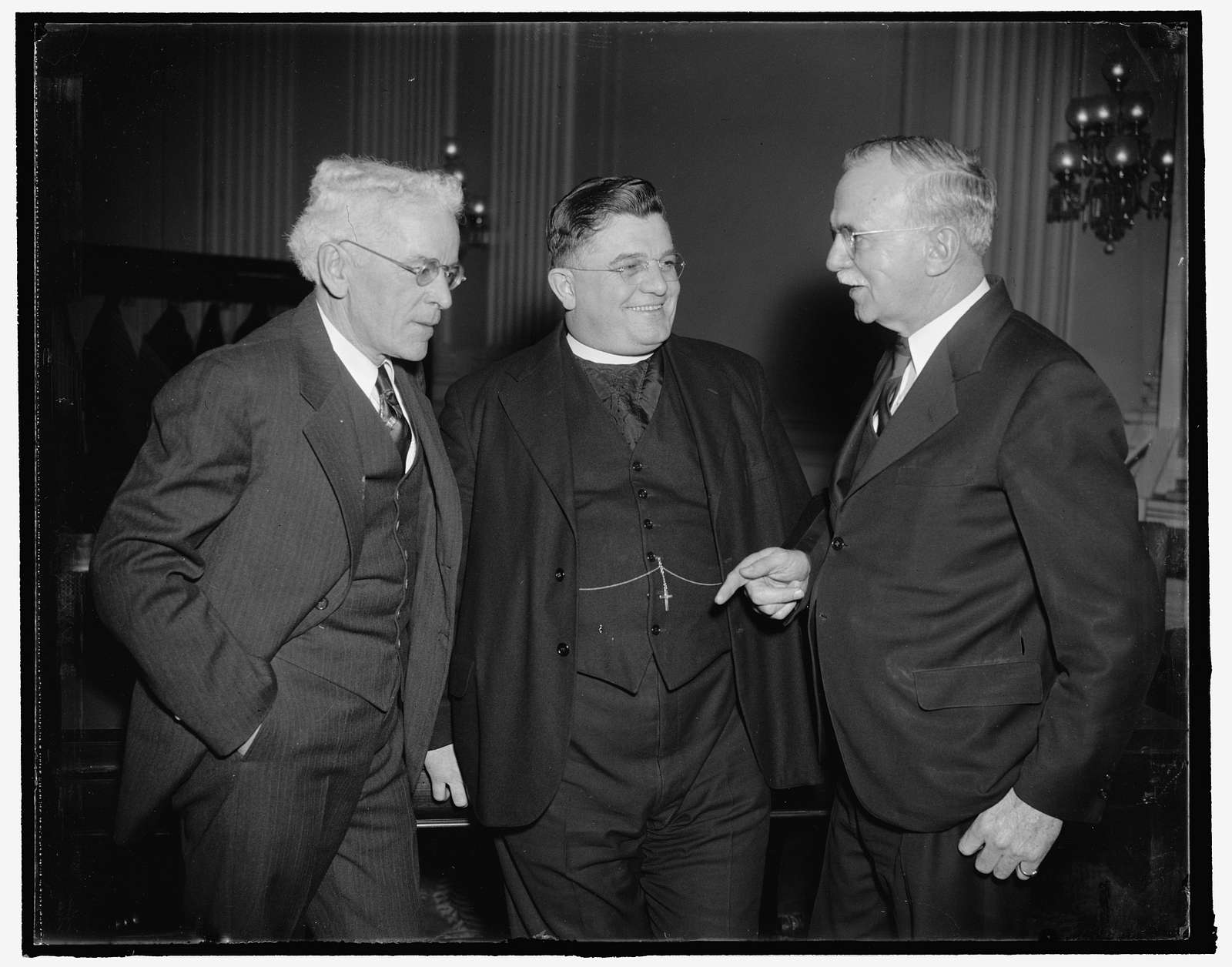 Judge John W. Carabine, of Springfield, Mass.; Rev. Alfred Holt, Balto., Md.; Thomas Boorde, Wash., D.C