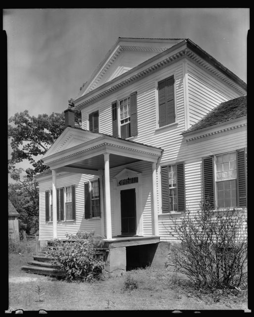 Junius Tillery farm house, Tillery vic., Halifax County, North Carolina
