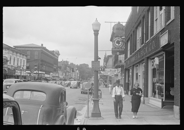 Main street, Lancaster, Ohio