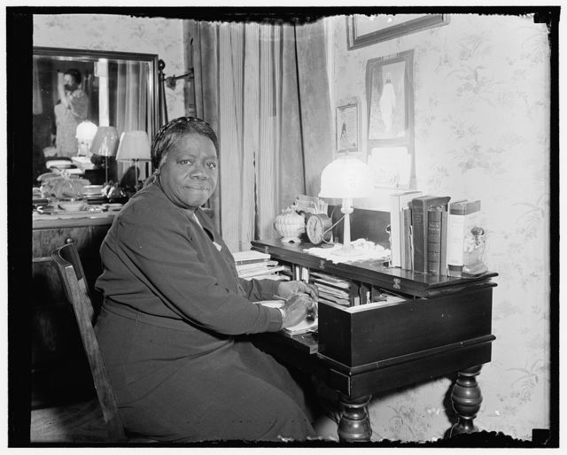 Mary Bethune, in charge of the Colored Section NYA