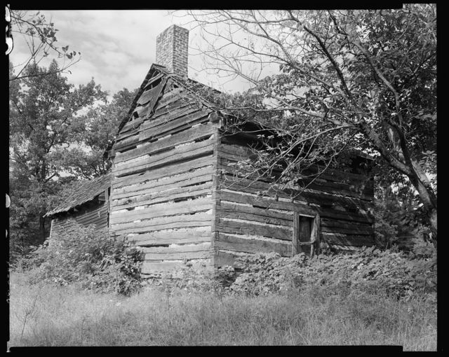 McIntire Log Cabin, Charlotte vic., Mecklenburg County, North Carolina