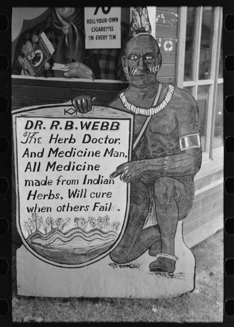 Medicine sign, Pine Bluff, Arkansas