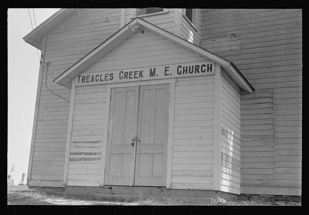 Methodist church, Urbana, Ohio