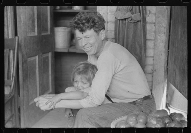 Mexican miner and child, Bertha Hill, Scotts Run, West Virginia
