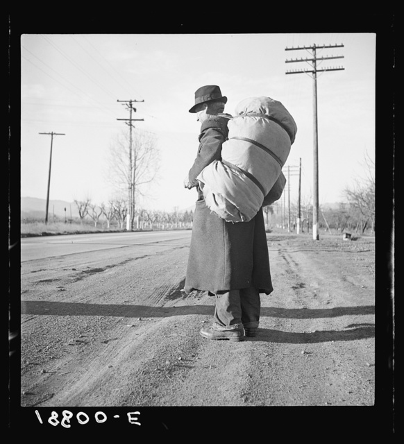 Napa Valley, California. More than twenty-five years a bindle-stiff. Walks from the mines to the lumber camps to the farms. The type that formed the backbone of the Industrial Workers of the World (IWW) in California before the war