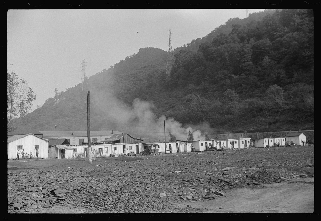 Negroes' homes about ten miles from Charleston, West Virginia