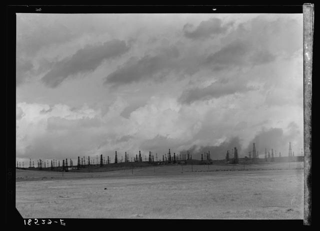Oil fields. Kern County, California