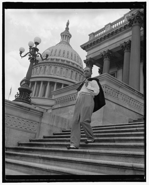 [On steps of Capitol]