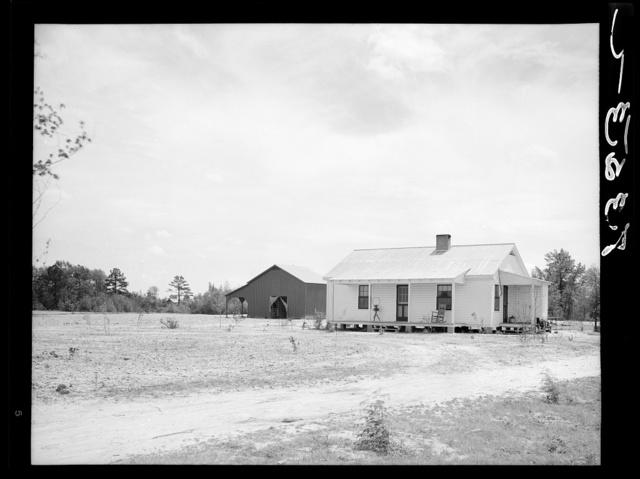 Plowing. Guilford County, North Carolina