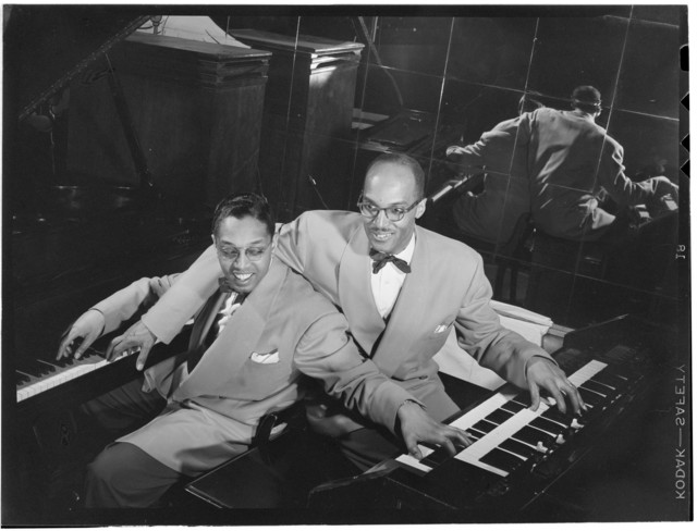 [Portrait of Billy Taylor and Bob Wyatt, New York, N.Y., ca. 1947]