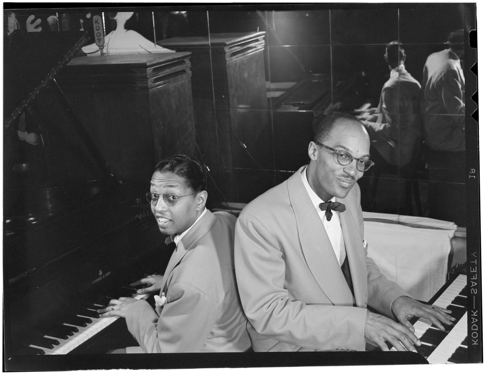 [Portrait of Billy Taylor and Bob Wyatt, New York, N.Y., ca. 1947]