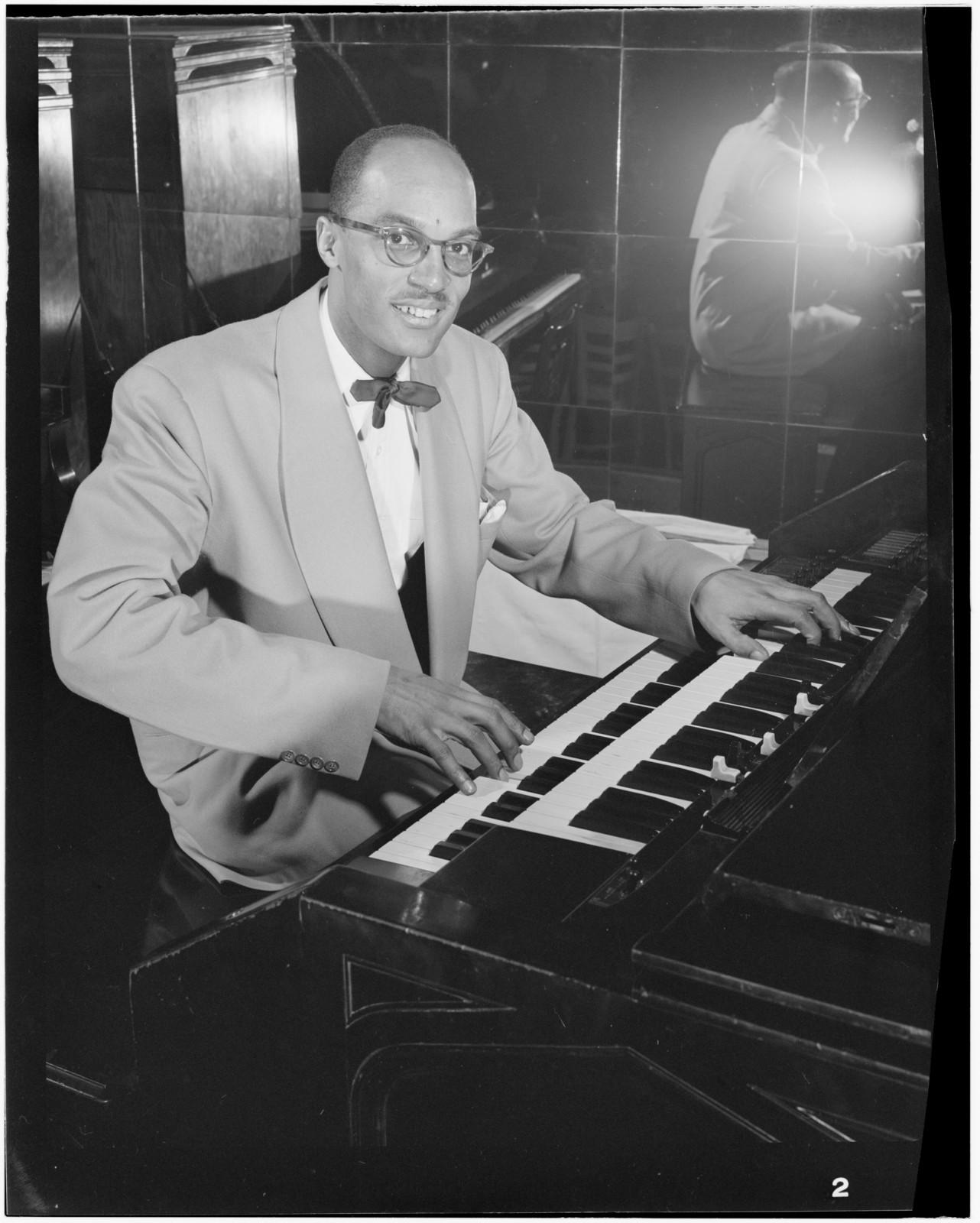 [Portrait of Bob Wyatt, New York, N.Y., ca. 1947]