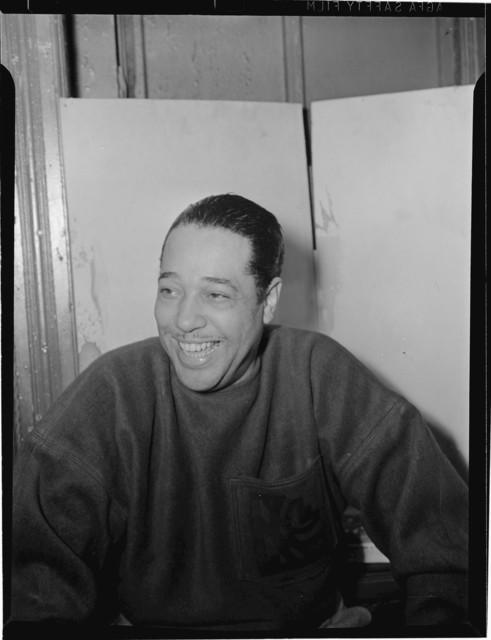 [Portrait of Duke Ellington, Washington, D.C., between 1938 and 1948]