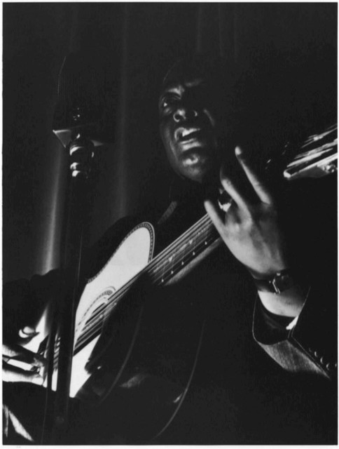 [Portrait of Leadbelly, National Press Club, Washington, D.C., between 1938 and 1948]