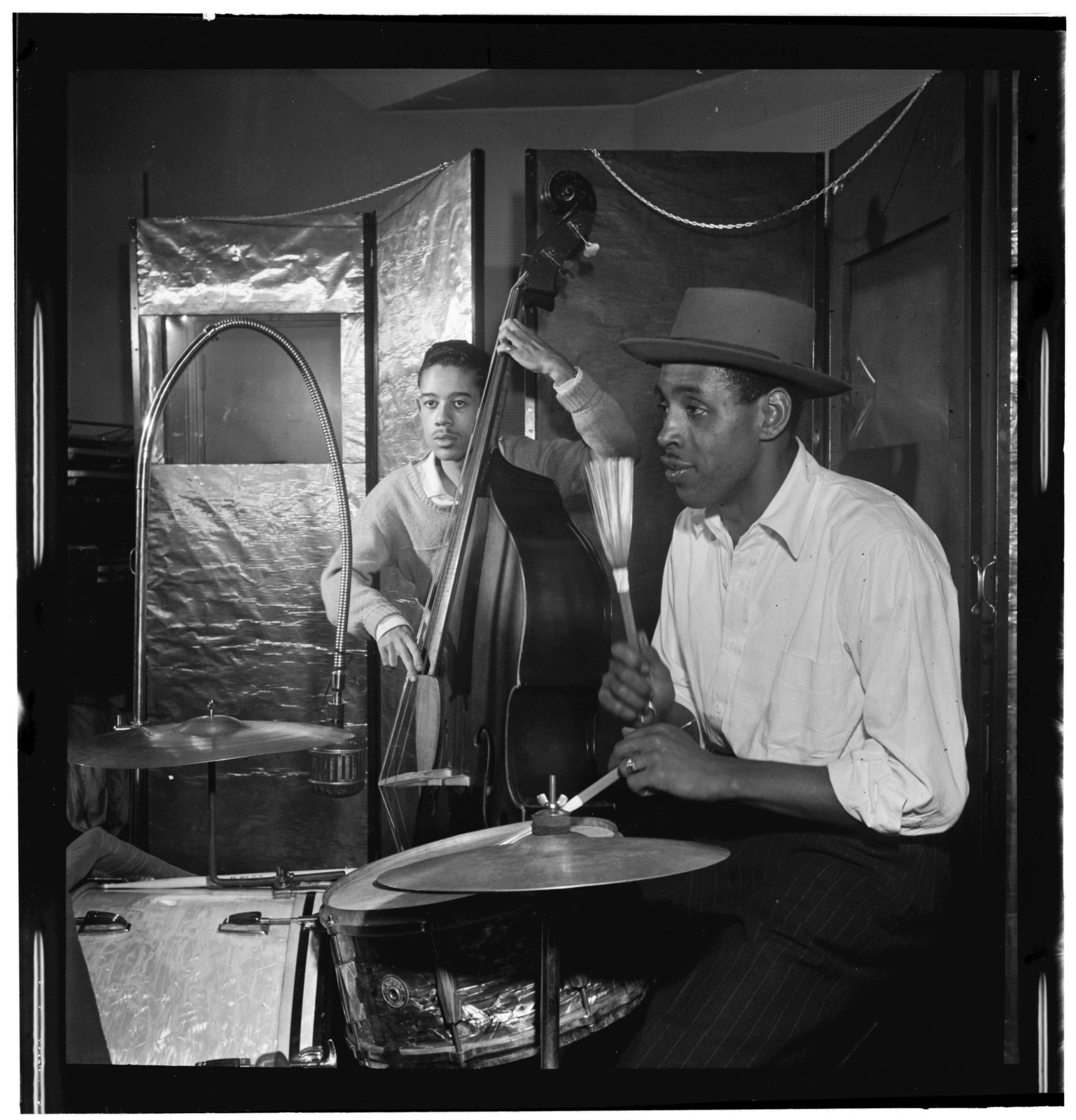 [Portrait of Shadow Wilson, New York, N.Y.(?), between 1938 and 1948]