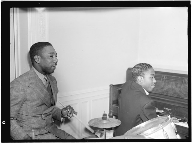 [Portrait of Tommy Myles and John Malachi, Turkish Embassy, Washington, D.C., between 1938 and 1948]