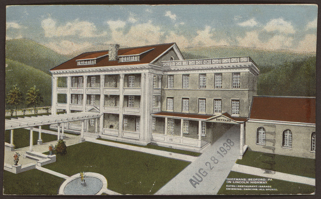 Postcard from Pearl R. Nye to Harold Spivacke, August 28, 1938