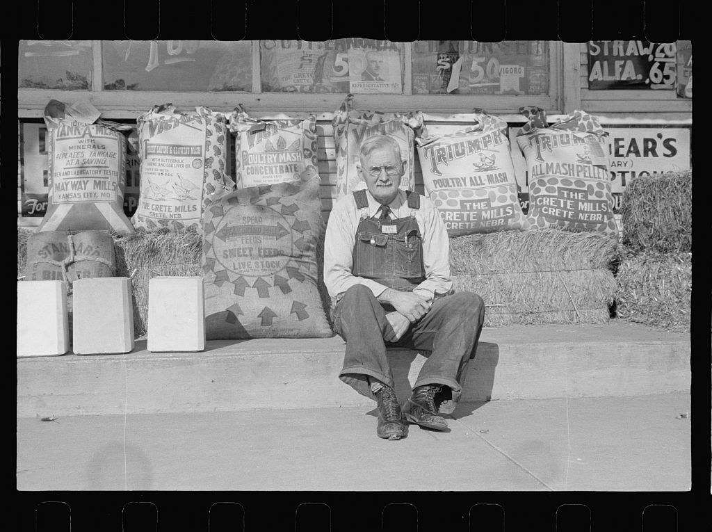 Proprietor of feed store in Topeka, Kansas