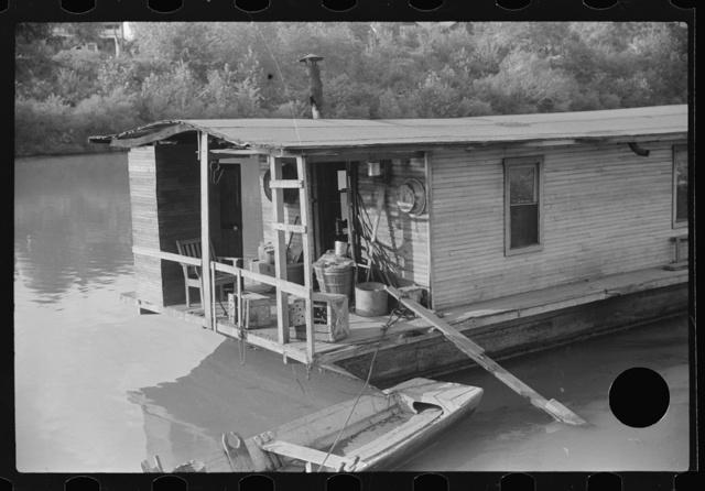 Riverboat home, Charleston, West Virginia