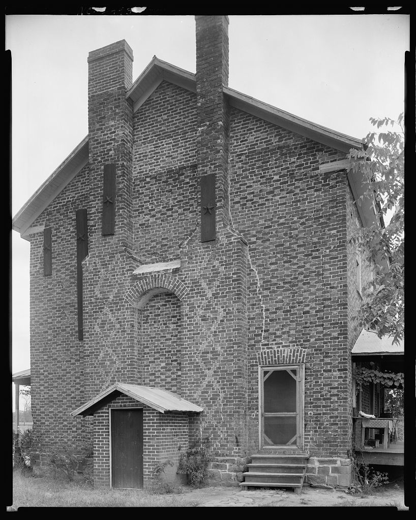 Rufus Johnston House, Lucia vic., Gaston County, North Carolina