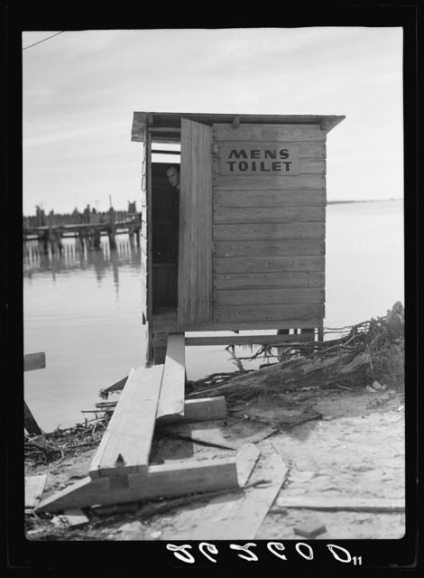Sanitary facilities. Lower Matecumbe Key, Florida