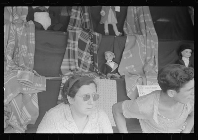Scene at Buckeye Lake Amusement Park, near Columbus, Ohio (see general caption)