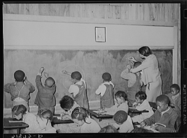 School room. Lakeview Project, Arkansas