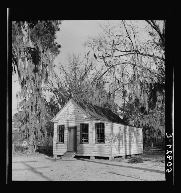 Schoolhouse near Summerville, South Carolina
