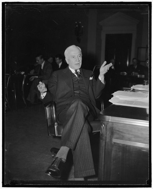 Sec. of State Cordell Hull