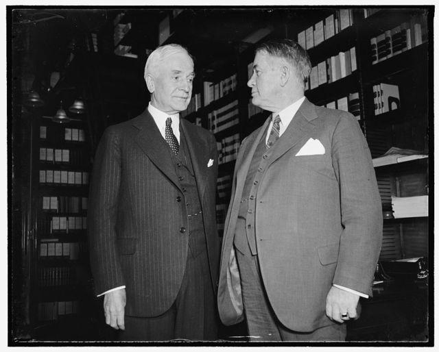 Sec. of State Cordell Hull & Sen. Alben Barkley of KY