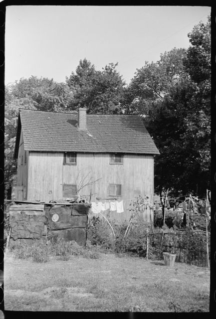 Shack in which families of cranberry pickers are crowded together, Burlington County, New Jersey