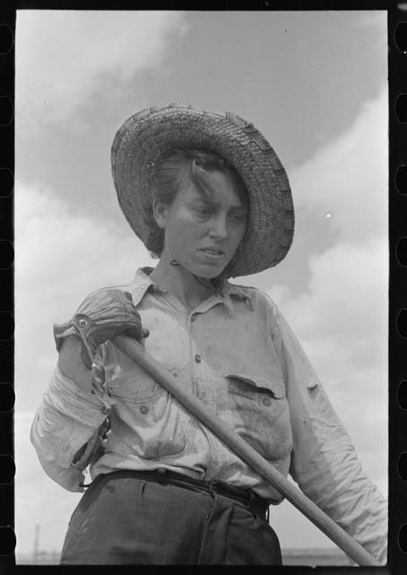 Sharecropper woman worker, Southeast Missouri Farms