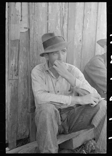 Son of sugarcane farmer, Delcambre, Louisiana