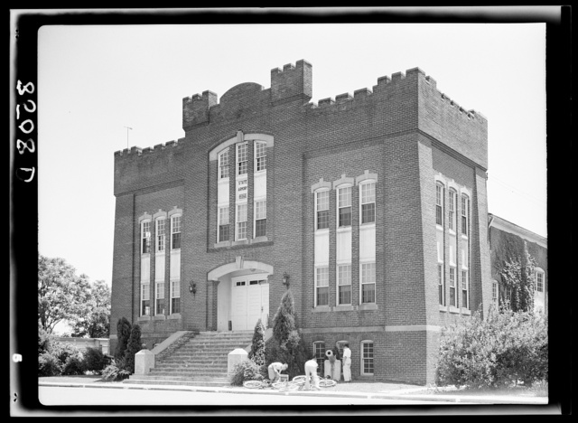 State armory at Dover, Delaware