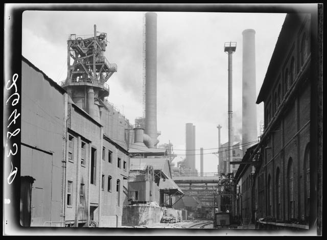Steel mill. Pittsburgh, Pennsylvania