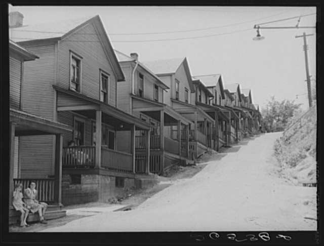 Steel workers' homes. Aliquippa, Pennsylvania