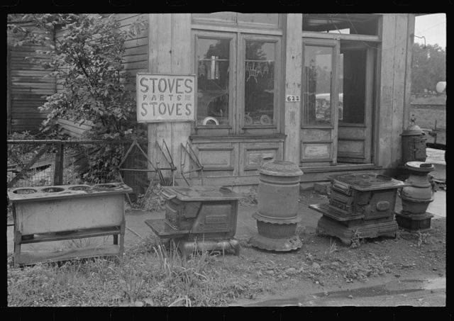 Stoves, parts for all stoves, near Circleville, Ohio (see general caption)