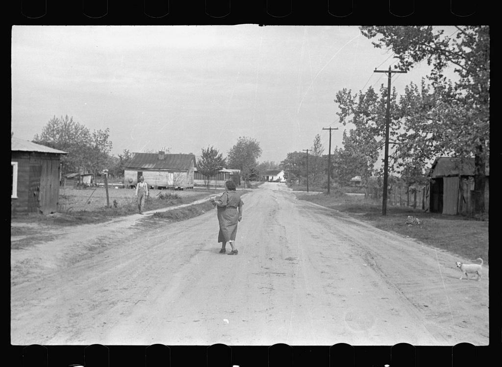 Street in Enfield, North Carolina