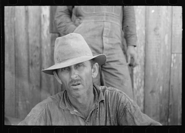 Sugarcane farmer near Delcambre, Louisiana