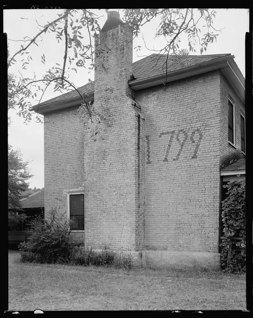 Thomas Rhyne House, Gaston County, North Carolina