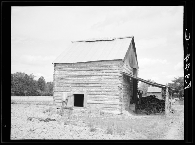 Tobacco barn. Beaufort County, North Carolina