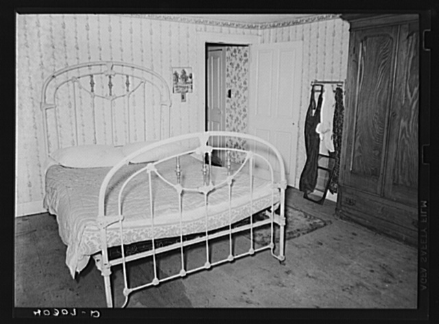 Tolland County, Connecticut. Mr. and Mrs. Schneider's bedroom