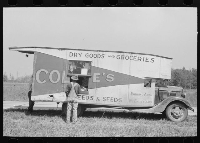 Traveling grocery store, Forrest City, Arkansas