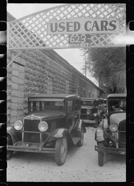 Used car lot in Columbus, Ohio