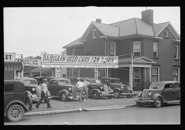 Used car lot, Lancaster, Ohio